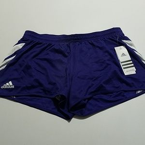 ADIDAS CLIMALITE RUNNING SHORTS FOR WOMEN SIZE M